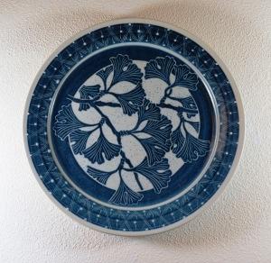 Blue Ginkgo Platter