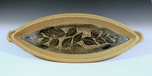 Carved Leaf Tray